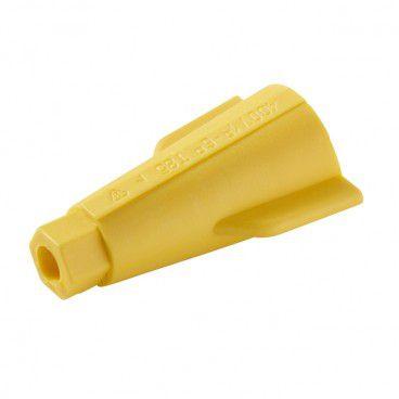 Złączka skrętna 1-6 mm żółta 10 szt.