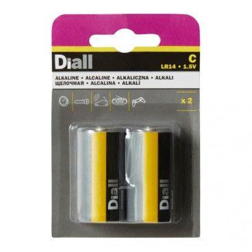 baterie alkaliczne Diall C 2 szt.