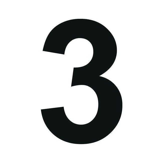 Cyfra 9 10 x 15 cm - Cyfry i litery - Oznakowanie - Bramy ...