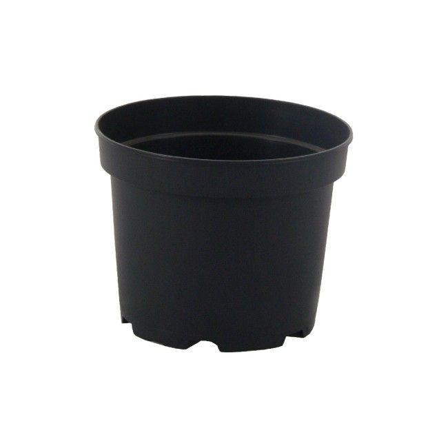 Doniczka Produkcyjna 23 Cm Czarna Donice Wewnętrzne
