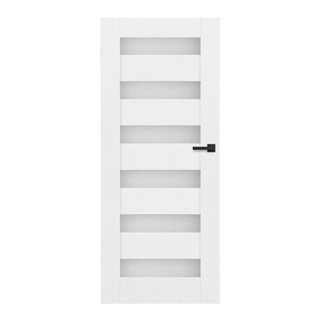 Drzwi Z Podcięciem Trame 60 Lewe Białe Drzwi