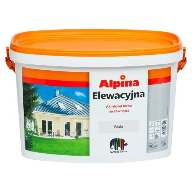 farba elewacyjna alpina be owa 10 l farby zewn trzne farby i tynki zewn trzne malowanie. Black Bedroom Furniture Sets. Home Design Ideas