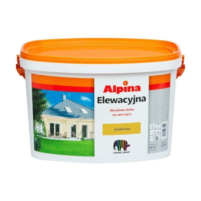 farba elewacyjna alpina piaskowy 10 l farby zewn trzne farby i tynki zewn trzne malowanie. Black Bedroom Furniture Sets. Home Design Ideas