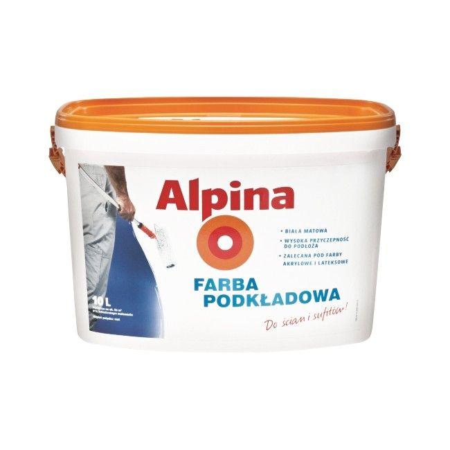 farba lateksowa alpina mattlatex bia a 10 l farby bia e farby wewn trzne malowanie. Black Bedroom Furniture Sets. Home Design Ideas