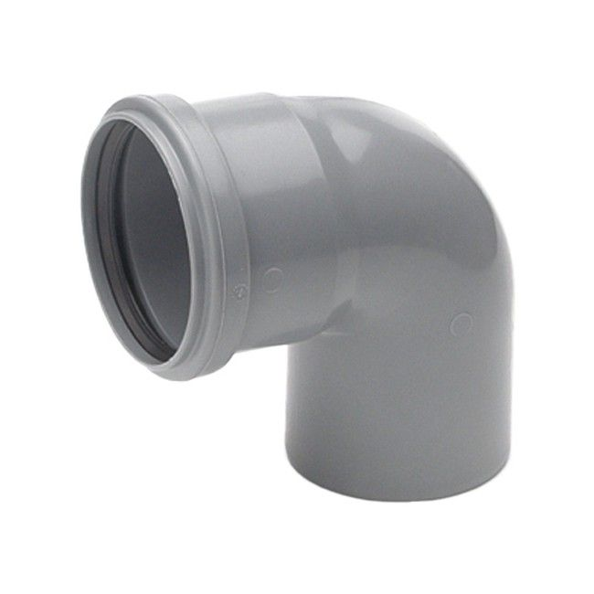 Kolano kanalizacyjne Pipelife 87° 50 mm