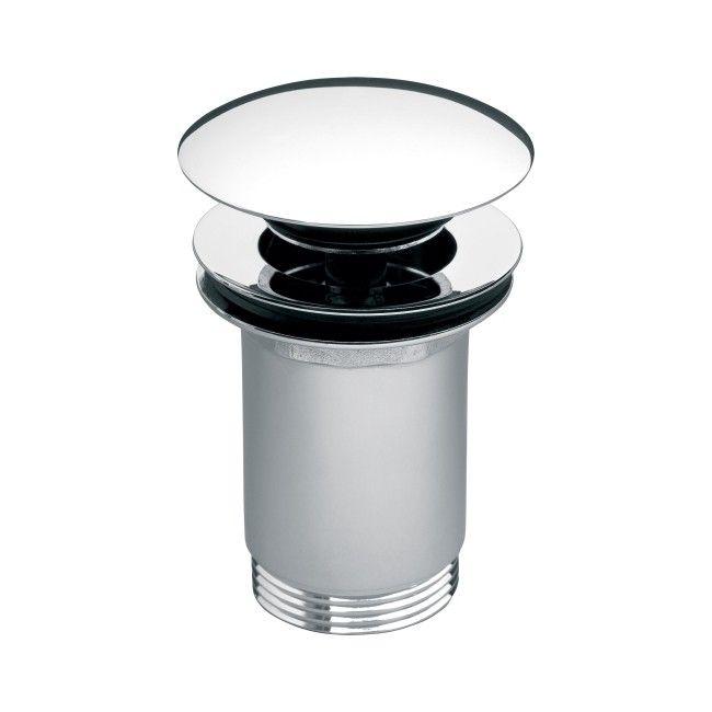 Korek klik-klak do umywalek z przelewem Ferro Rotondo chrom