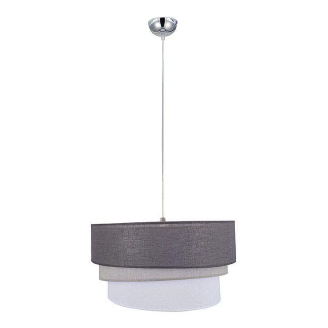 Spot Plafon Colours Bomos 3 Led Zintegrowany Srebrny Spoty Lampy