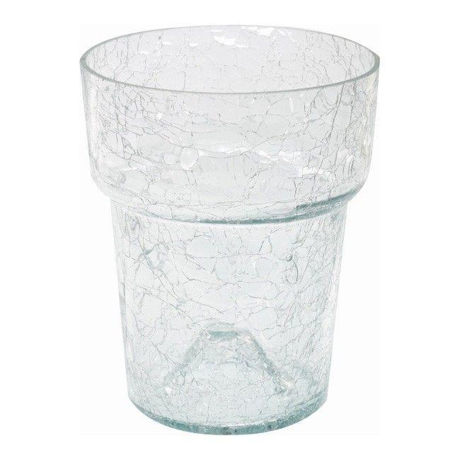 Osłonka Doniczki Cermax Szklana Pod Storczyk 15 Cm