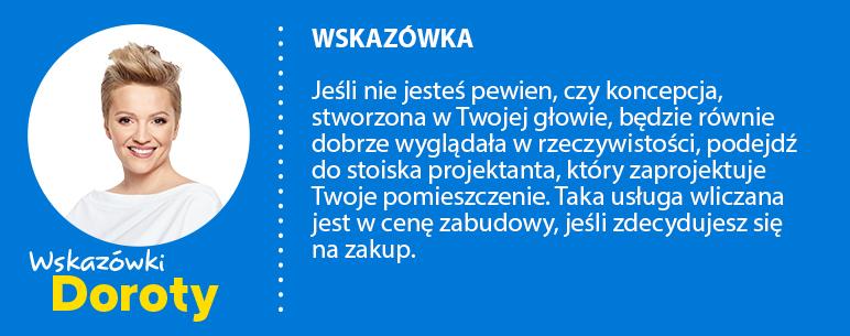 wskazówka Doroty Szelągowskiej