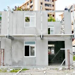 dom modulowy w trakcie budowy