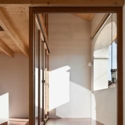 szklane drzwi na taras