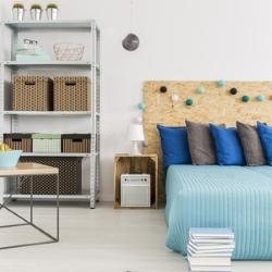 organizacja sypialni DIY