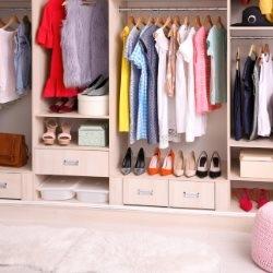 Wygodna i przestronna garderoba
