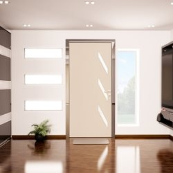 Wycieraczka przy drzwiach wejściowych od wewnatrz