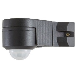 Czujnik ruchu LED Blooma Moncton kątowy 150 W czarny