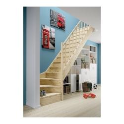 gotowe schody z drewna