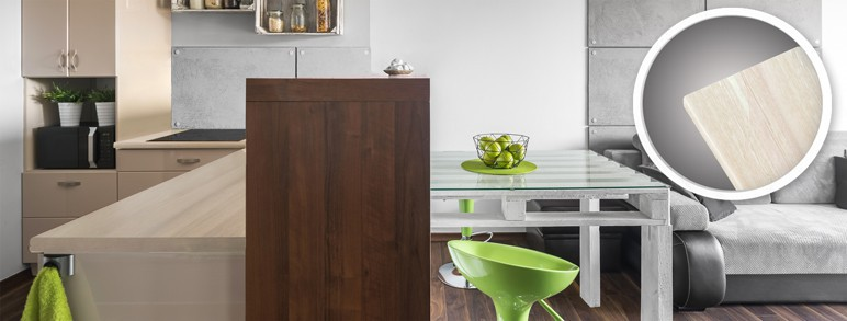 Blat laminowany drewniany Biuro Styl 61 x 4 x 305 cm dąb premium