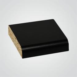 Blat laminowany Biuro Styl 60 x 2,8 x 305 cm czarny matowy