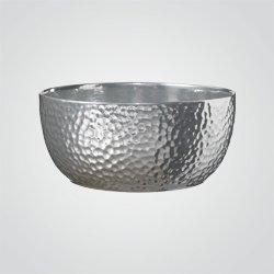 Misa na doniczkę Boston 27 cm srebrna