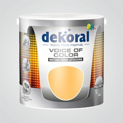 Farba Dekoral Voice of Color kogel-mogel 2,5 l