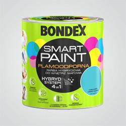 Farba hybrydowa Bondex Smart Paint turkusowy zawrót głowy 2,5