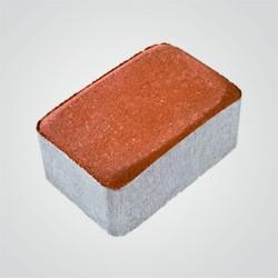 Kostka brukowa Polbruk Nostalite 6 cm czerwona