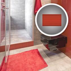Glazura Cersanit Vilenia 25 x 40 cm czerwona struktura 1,2 m2
