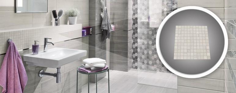 Mozaika Arte Pinia 30 x 30 cm biała