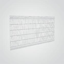 Panel ogrodzeniowy Polargos Sparta 250 x 123 cm oczko 5 x 20 cm ocynk antracyt