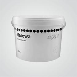 Farba akrylowa OPP Matowa biała 10 l