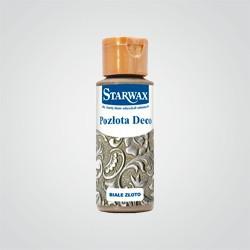 Pozłota Starwax decoupage białe złoto