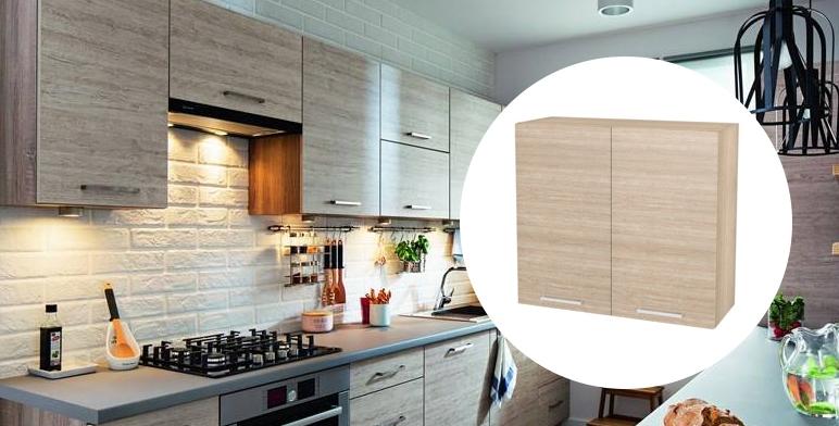 szafki drewniane w kuchni