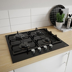 umieszczenie płyty grzewczej w kuchni