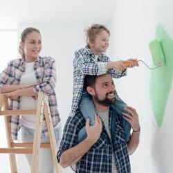 Malowanie dziecinnego pokoju