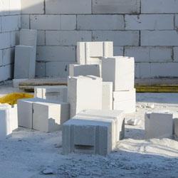 Budowanie ściany z betonu komórkowego 1