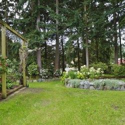 rekreacja w ogrodzie