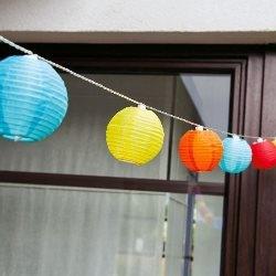 lampki kule multicolor