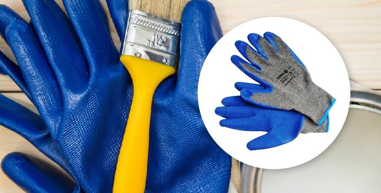 rękawice do malowania