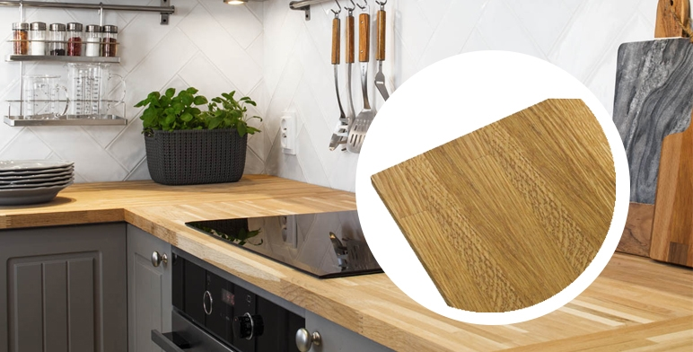 blat drewniany do kuchni pod okno