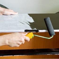 Malowanie mebli wałkiem