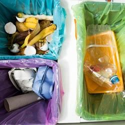 Śmietnik pod zlewozmywak na segregacje śmieci