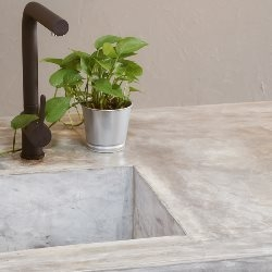 betonowy blat