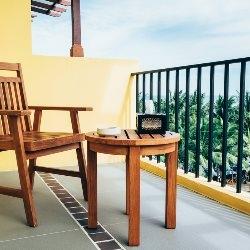 płytki na balkonie