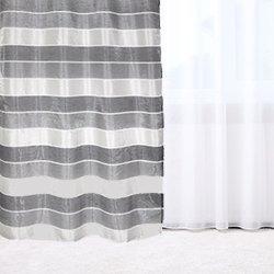 Zasłona Colours Sors 140 x 260 cm szara / czarna / kremowa