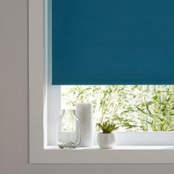 Roleta Colours Boreas 55 x 180 cm niebieska