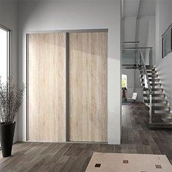 Drzwi przesuwne Valla 247,5 x 92,2 cm dąb dziki