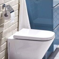 Miska WC wisząca Roca Gap z deską wolnoopadającą Duroplast