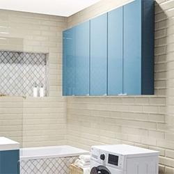 Szafka Cooke&Lewis Imandra 60 x 90 x 15 cm niebieska