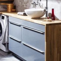 Szafka pod umywalkę Cooke&Lewis Imandra wisząca 80 cm niebieska