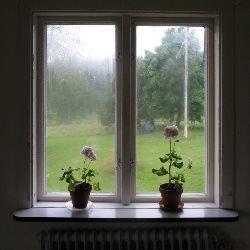 okno parapet